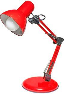 Luminária De Mesa Empire B - Startec - Vermelho