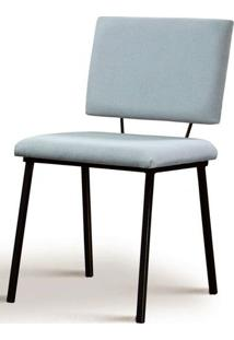 Cadeira Preciosa Cinza Base Preta - 50730 - Sun House