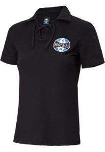 Camiseta Grêmio Retrô Corda Feminina - Feminino