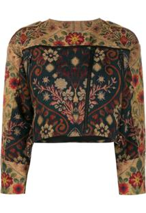Preen By Thornton Bregazzi Hera Cropped Jacket - Neutro