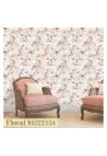 Papel De Parede Autocolante Rolo 0,58 X 3M Floral 95222134