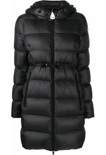 Moncler Bannec Belted Waist Jacket - Preto