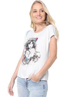 Blusa Cativa Disney Jasmine Branca
