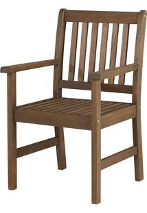 Cadeira Com Braã§Os Recanto - Nogueira