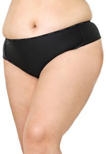 Calcinha Calvin Klein Underwear Fio Dental Day By Day Preta
