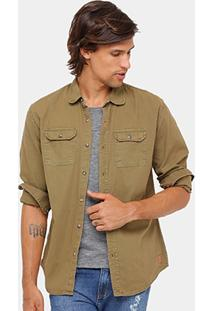 Camisa Colcci Sarja 6Oz Tint Masculina - Masculino
