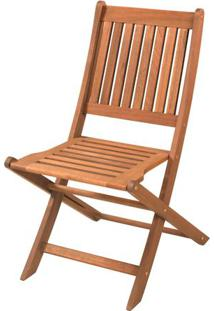 Cadeira Dobravel Sem Braco Cor Stain Jatoba - 15557 - Sun House