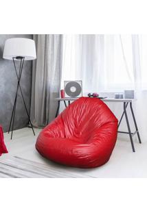 Puff Fofão Casal Corino Siena Móveis Vermelho