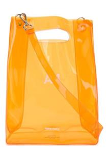 Nana-Nana A4 Shoulder Bag - Laranja