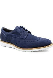 Sapato Masculino Estilo Oxford 10952 Nobuck Keep Shoes - Masculino