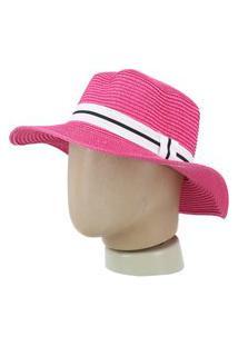 Chapéu Feminino De Palha Chapéu Feminino De Palha Pink