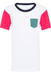 Camiseta Feminina Família Pocket - Branco