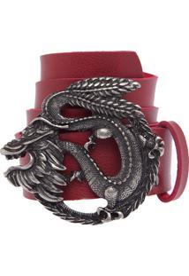Cinto Fiveblu Dragão Vermelho