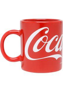 Caneca Coca-Cola® Logo Classic- Vermelha & Branca- 1Urban