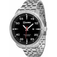 a1e31cb6771 Relógio Xgames Xmss1033 P2Sx - Masculino-Prata+Preto