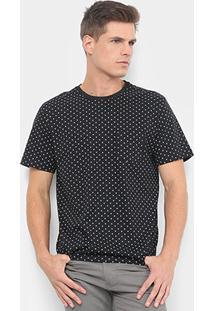 Camiseta Burn Full Print Poá Masculina - Masculino