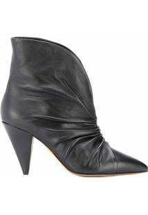 Isabel Marant Pointed Ankle Boots - Preto