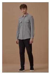 Camisa Ml Moletom Trend
