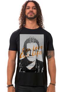 Camiseta Masculina One Preto B