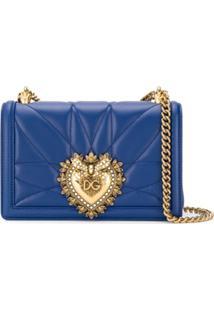 Dolce & Gabbana Small Devotion Bag - Azul