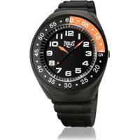 76e3170cc49 Relógio Pulso Everlast Com Pulseira Pu E3021 Masculino - Masculino-Preto +Laranja