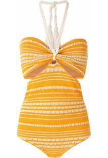 Nk Body De Tricô - Amarelo