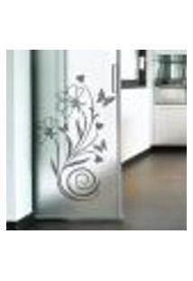 Adesivo De Parede Floral Modelo 28 Primavera - M 75X50Cm