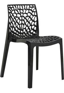 Cadeira Gruvyer -Rivatti - Preto