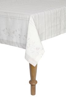 Toalha De Mesa Quadrada Artex 1,60X1,60 M Anti Mancha Alessa Fendi