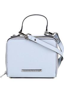 Bolsa Loucos & Santos Mini Bag Estruturada Floater Feminina - Feminino-Azul