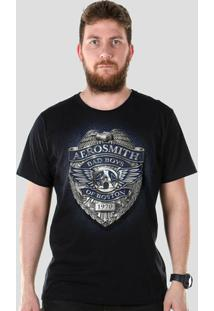 Camiseta Masculina Bandup! Aerosmith Bad Boys Of Boston - Masculino