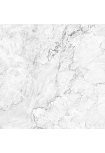 Papel De Parede Stickdecor Adesivo Textura De Mã¡Rmore 100Cm L X 300Cm A - Branco - Dafiti