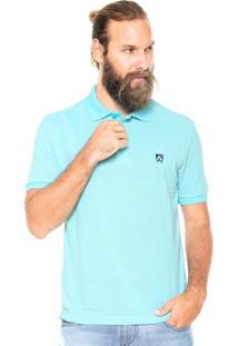 Camisa Polo Mr Kitsch Maga Curta Essential Azul