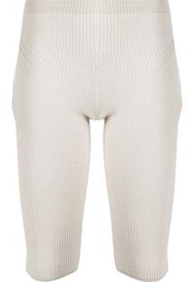 Jacquemus Legging Cropped Arancia - Neutro