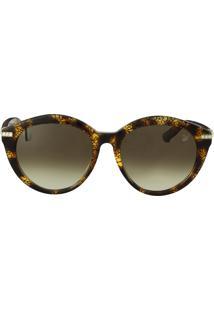 R  950,40. Dafiti Óculos De Sol Swarovski Fashion Marrom 3a722538da