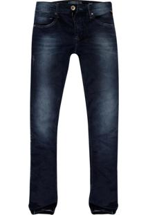 Calça Jeans Khelf Stretch Escura Azul