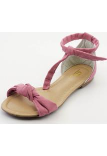 Sandália Btr Fashion Nó Pink