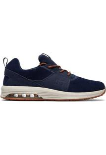 Tênis Dc Shoes Heathrow Ia Camel Masculino - Masculino-Azul