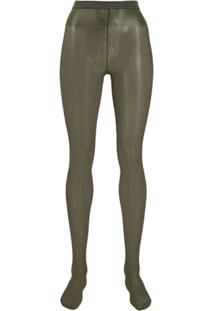 Wolford Meia-Calça Neon 40 - Verde