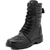 bc634f75867 Bota Cano Alto Militar Atron Shoes Preto