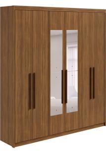 Guarda-Roupa Casal Com Espelho Libra 6 Pt 3 Gv Rovere