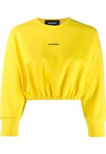 Dsquared2 Suéter Com Logo - Amarelo