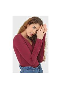 Blusa Malwee Lisa Vinho