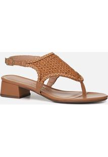 Sandália Feminino Milano Light Tan 10911