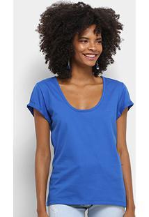 Camiseta Básica Colcci Manga Curta Feminina - Feminino