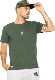 Camiseta New Era Mini Logo La Dodgers Verde