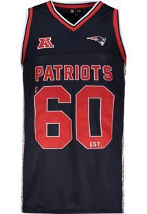 Regata New Era Nfl New England Patriots Marinho Escudo
