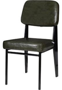 Cadeira Jean Provve Estofada Verde 81Cm (Alt) - 47159 - Sun House