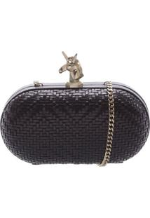 Clutch Unicorn Black | Schutz