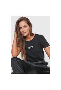 Camiseta Triton Made In Brazil Preta